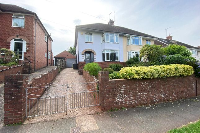 Thumbnail Semi-detached house for sale in Vaughan Road, Exeter