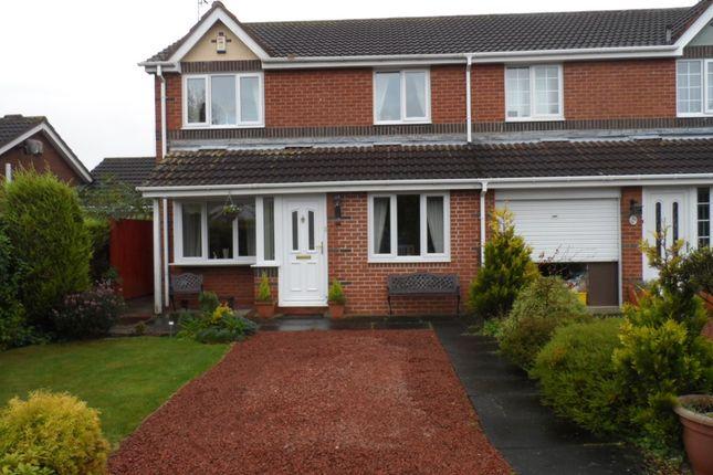 Thumbnail Semi-detached house for sale in Linton Burn Park, Widdrington, Morpeth