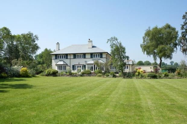 Thumbnail Detached house for sale in Kersbrook, Budleigh Salterton, Devon