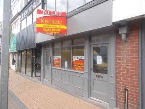 Retail premises to let in 54 Clifton Street, Blackpool