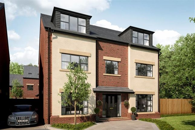 Thumbnail Detached house for sale in Woodland Grange, Ellenbrook, Manchester