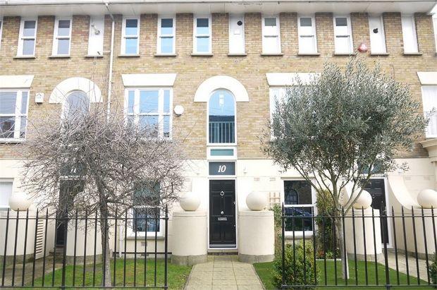 Thumbnail Terraced house to rent in Eaton Terrace, Aberavon Road, London