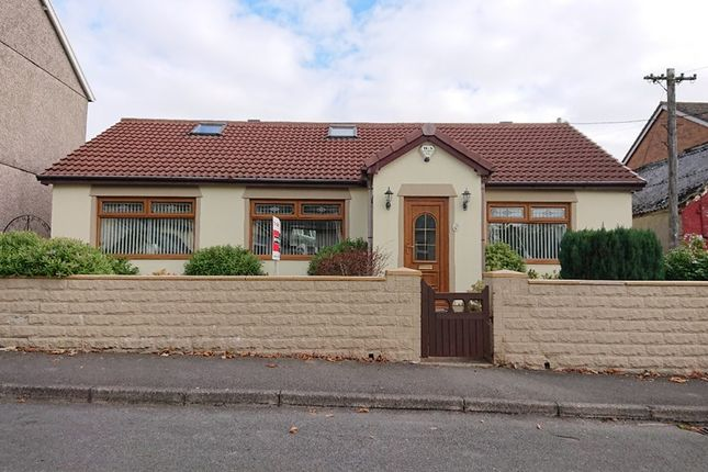 Thumbnail Detached bungalow for sale in Colenso Terrace, Rhymney, Tredegar
