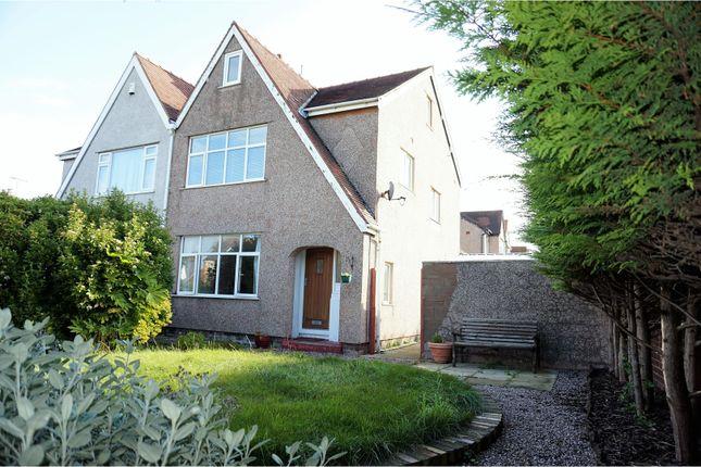 Thumbnail Semi-detached house for sale in Rhuddlan Road, Rhyl