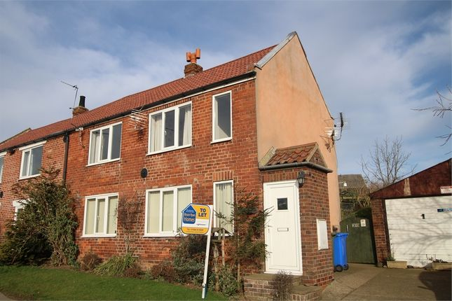 Thumbnail Semi-detached house to rent in Seaside Lane, Tunstall, Hull, East Riding Of Yorkshire