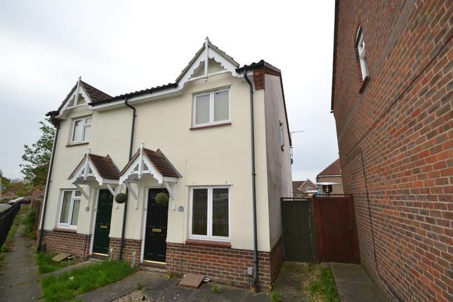 Thumbnail Semi-detached house for sale in Hallcroft Chase, Highwoods, Colchester