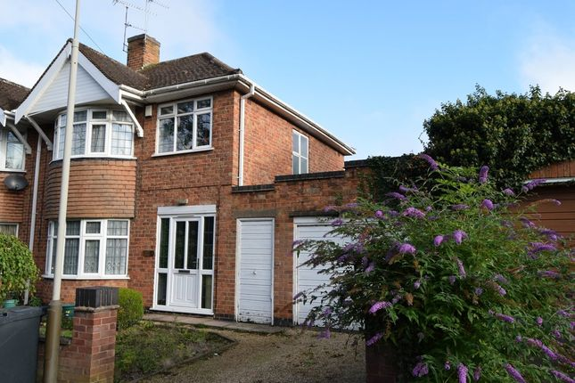 Thumbnail Semi-detached house to rent in Uppingham Road, Leicester