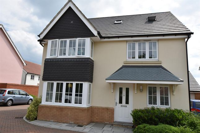 Thumbnail Detached house for sale in Stane Road, Brewers End, Takeley