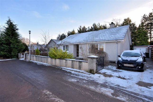 Thumbnail Detached bungalow for sale in Strathspey Drive, Grantown-On-Spey