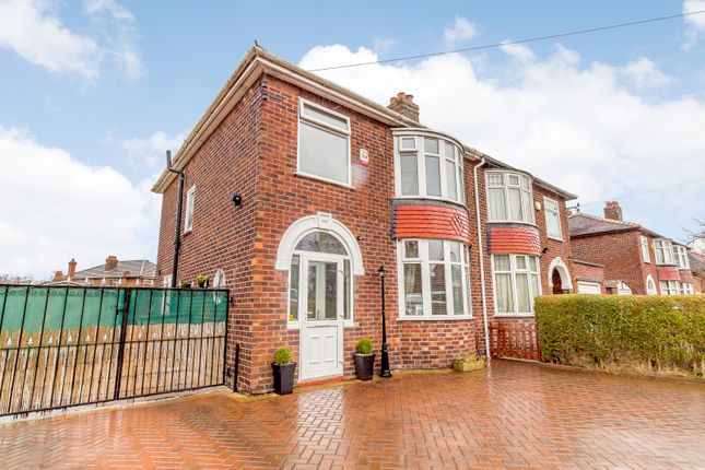 Thumbnail Semi-detached house for sale in Hollyhedge Road, Manchester