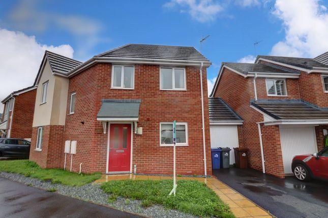 Side View of Flint Street, Weston Coyney, Stoke-On-Trent ST3