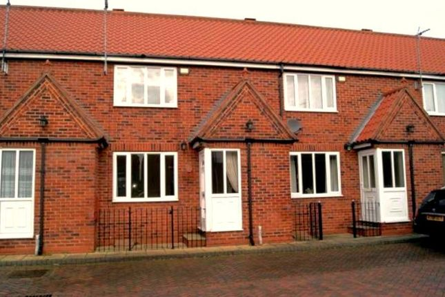 Thumbnail Terraced house to rent in Wiles Court, Beverley