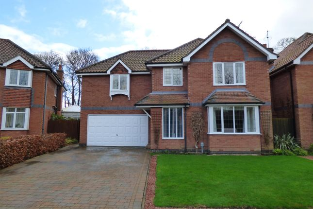 Thumbnail Detached house for sale in Manor Park, Beverley