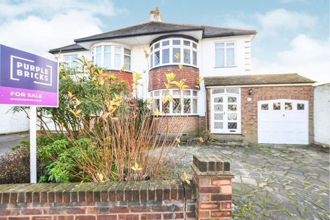 Thumbnail Semi-detached house for sale in Rosemary Avenue, Romford