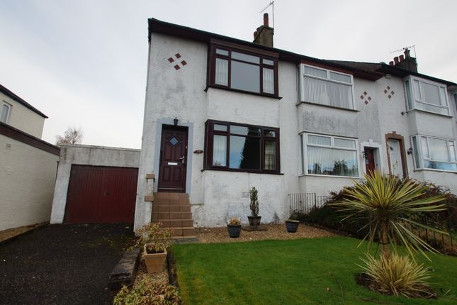 Thumbnail End terrace house for sale in Gallowhill Road, Lenzie