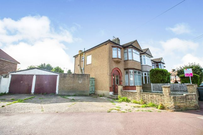 Thumbnail End terrace house for sale in Westrow Drive, Barking