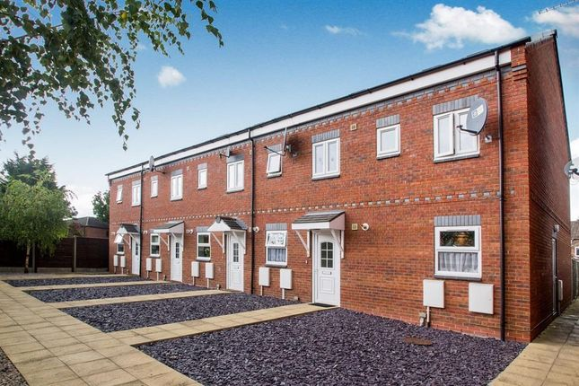 Thumbnail Terraced house to rent in Park Mews, Burton-On-Trent