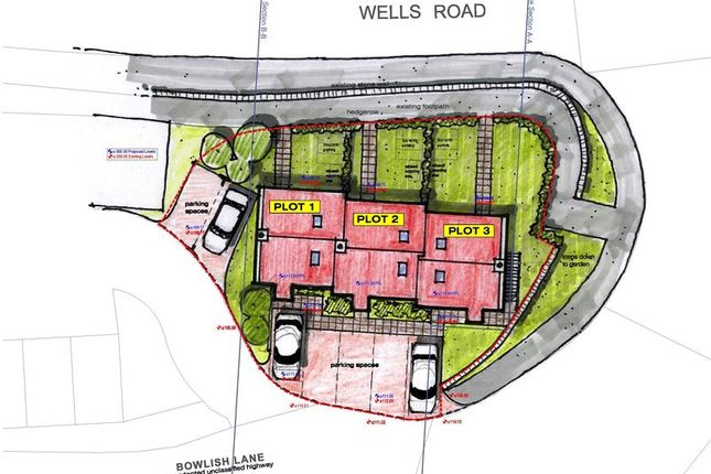 Thumbnail Land for sale in Coombe Lane, Bowlish, Shepton Mallet