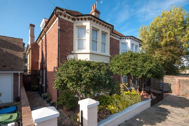 Thumbnail Semi-detached house for sale in Cornwall Gardens, Cliftonville, Margate