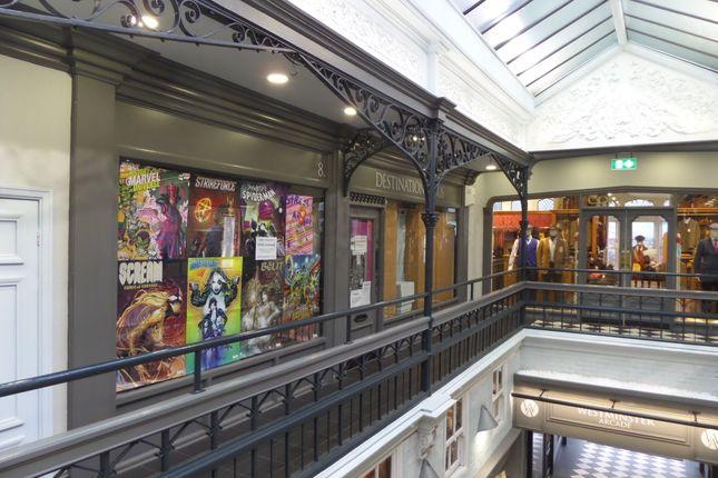 Retail premises to let in Westminster Arcade, Parliament Street, Harrogate
