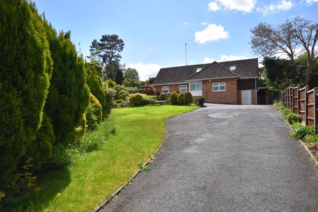 Thumbnail Detached bungalow for sale in Bromyard Road, Tenbury Wells