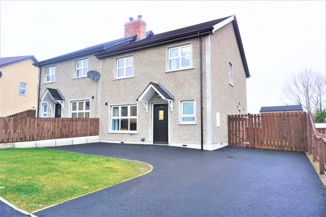 Thumbnail Semi-detached house for sale in Derrywinnin Heights, Dungannon
