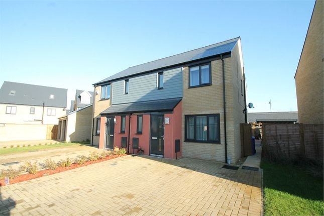 Thumbnail Semi-detached house for sale in Elvedon Close, Ipswich, Suffolk