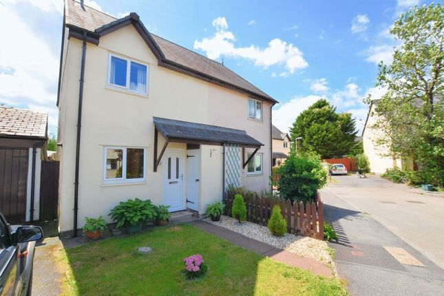 Thumbnail Semi-detached house for sale in Daucus Close, Tavistock