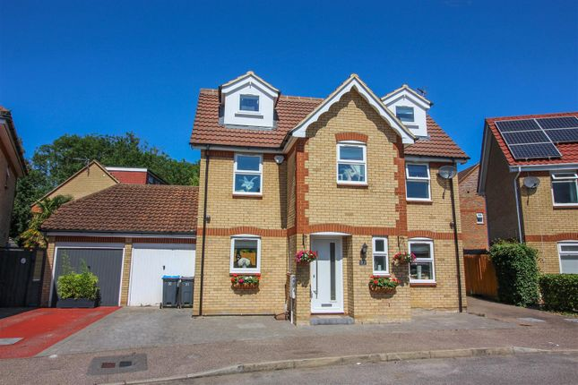 Thumbnail Detached house for sale in Aynsley Gardens, Church Langley, Harlow
