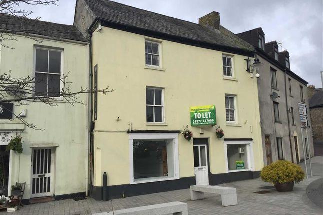 Thumbnail Retail premises for sale in 25, Honey Street, Bodmin