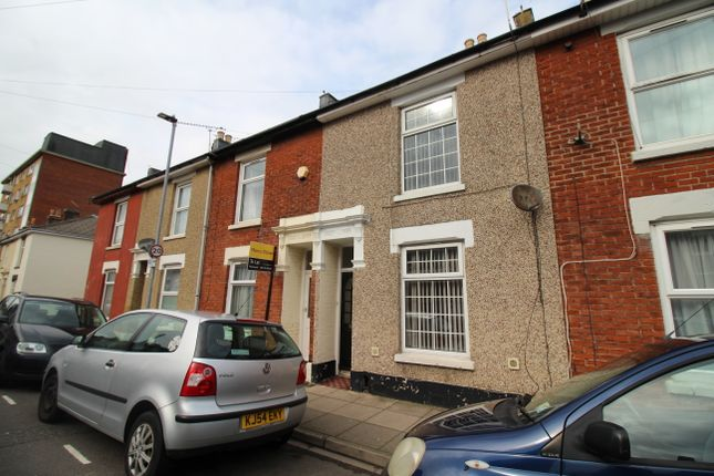 Thumbnail Terraced house to rent in Bramble Road, Southsea, Hampshire