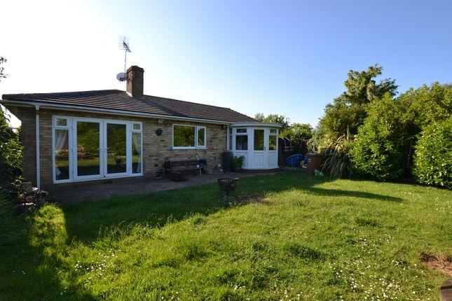 Thumbnail Detached bungalow for sale in Bernard Crescent, Hunstanton, Norfolk.