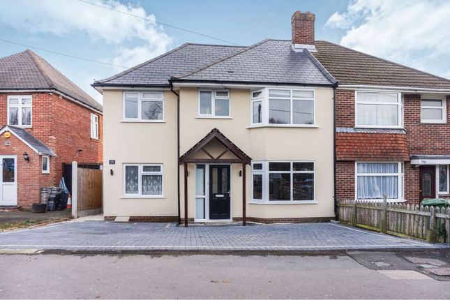 Thumbnail Semi-detached house for sale in Middle Road, Sholing, Southampton