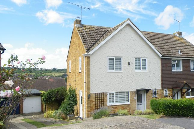 Thumbnail Semi-detached house for sale in Walnut Close, Wayfield
