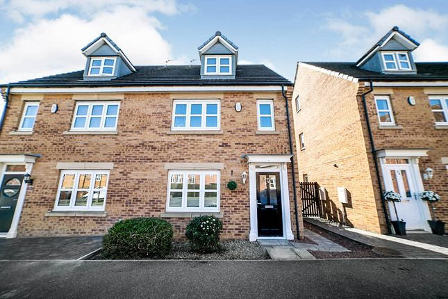 4 bed semi-detached house for sale in Dukesfield, Earsdon View Shiremoor, Newcastle Upon Tyne, Tyne And Wear NE27