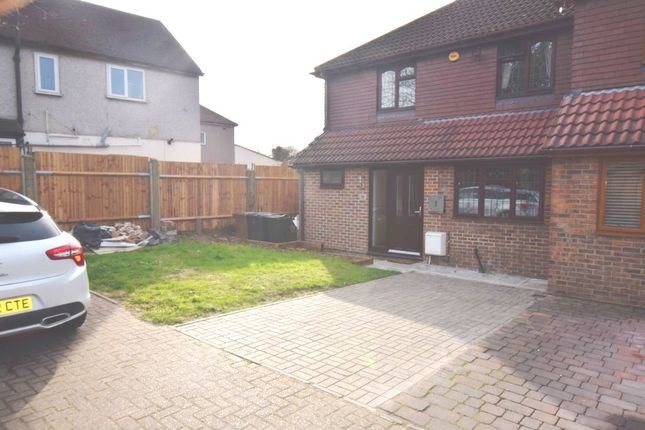 Thumbnail Semi-detached house for sale in Wayville Road, Dartford, Kent