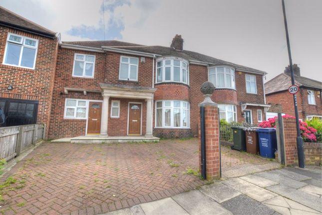 Thumbnail Terraced house for sale in Friarside Road, Fenham, Newcastle Upon Tyne