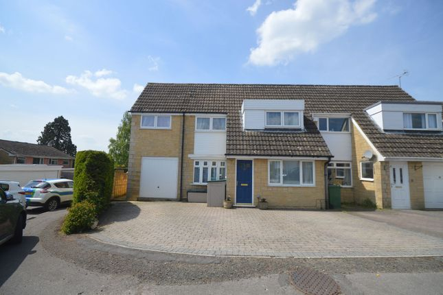 Thumbnail Semi-detached house for sale in Thessaly Road, Stratton, Cirencester
