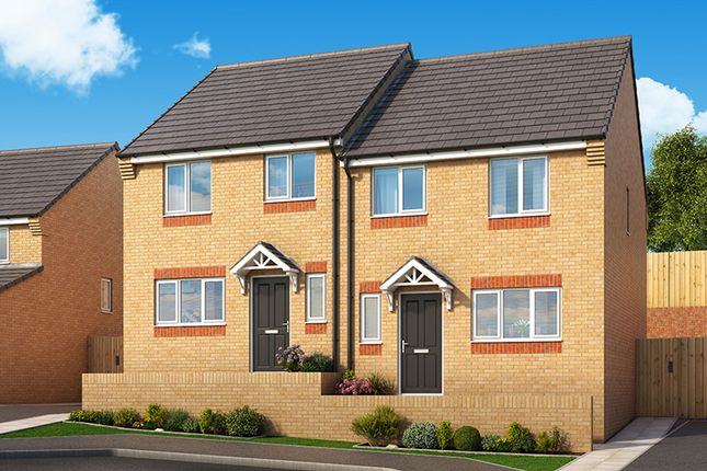 "Thumbnail Property for sale in ""The Larch"" at Palmer Road, Dipton, Stanley"