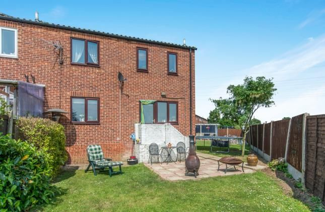 Thumbnail End terrace house for sale in Alder Close, Sheerness, Kent