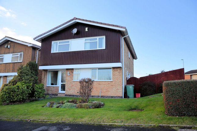 Thumbnail Detached house for sale in Pennine Way, Ashby-De-La-Zouch