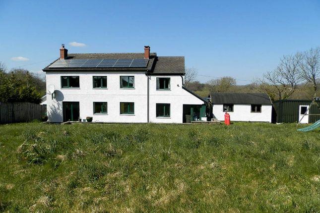 Thumbnail Farmhouse for sale in Llanddarog Road, Carmarthen, Carmarthenshire