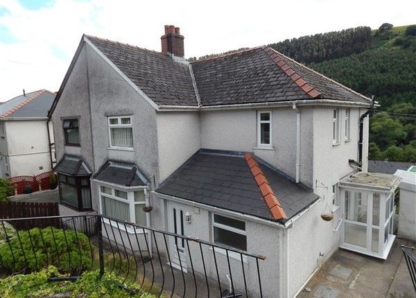 Thumbnail Semi-detached house for sale in Roseheyworth Road, Abertillery