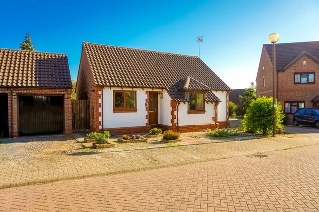 Thumbnail Detached bungalow for sale in Redhuish Close, Milton Keynes