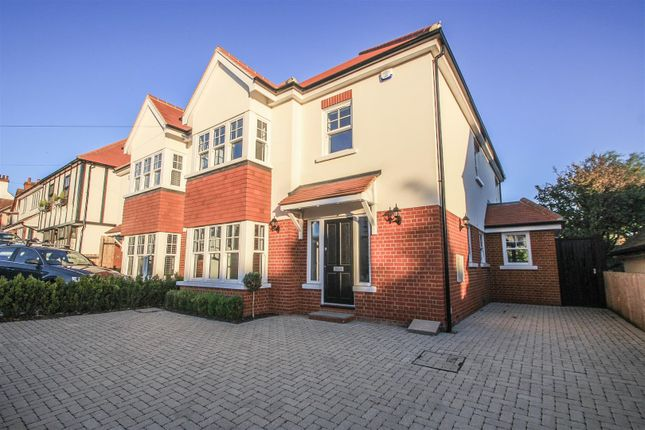 Thumbnail Semi-detached house for sale in Somerville Gardens, Leigh-On-Sea
