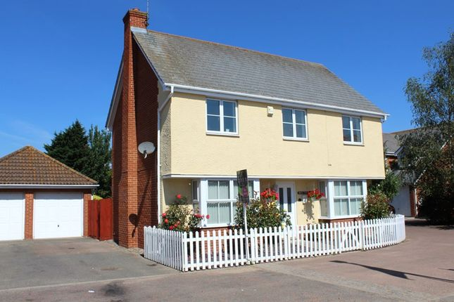 Thumbnail Detached house for sale in The Sheltons, Kirby Cross, Frinton On Sea