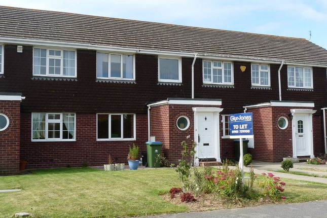 Thumbnail Terraced house to rent in Southfields Road, Littlehampton
