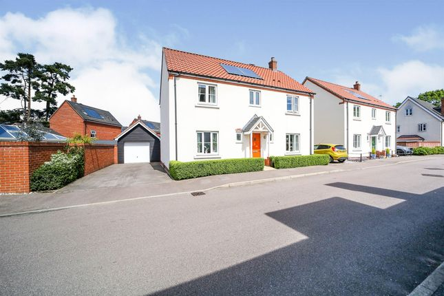 4 bed detached house for sale in Stuart Drive, Thetford IP24