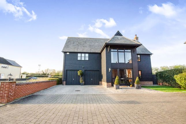 Thumbnail Detached house for sale in Chappel Road, Great Tey, Colchester