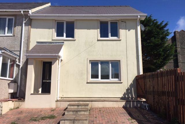 Thumbnail Semi-detached house to rent in Stranraer Road, Pennar Pembroke Dock